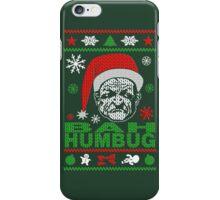 Revised! Bah Humbug Santa iPhone Case/Skin