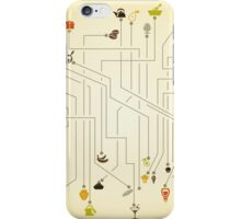 Food the scheme iPhone Case/Skin