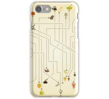 Food the scheme iPhone Case/Skin