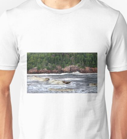 Black Brook Beach Unisex T-Shirt