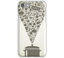 Food8 iPhone Case/Skin