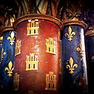 Sainte Chapelle, Paris - column detail by bubblehex08