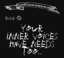 deadbunneh asylum - your inner voices have needs too by Dave Brogden