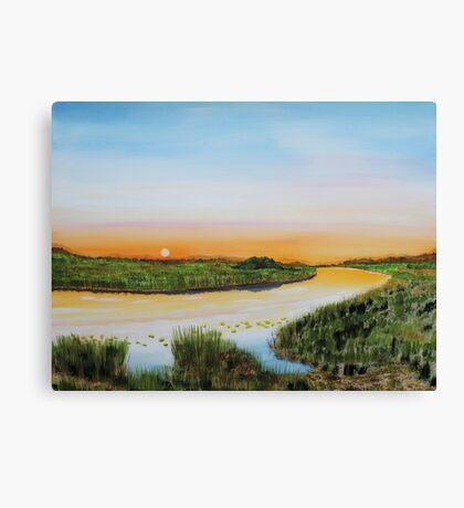 Willow Creek Canvas Print
