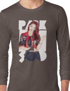 TWICE 'Park Ji-soo' Typography Long Sleeve T-Shirt