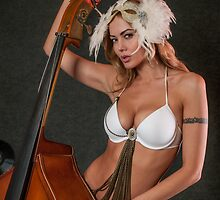 Beauty and ContraBass (beast) by Anton Oparin