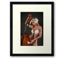 Beauty and ContraBass (beast) Framed Print