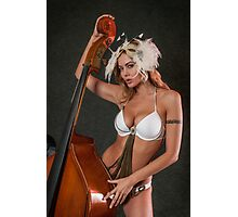 Beauty and ContraBass (beast) Photographic Print
