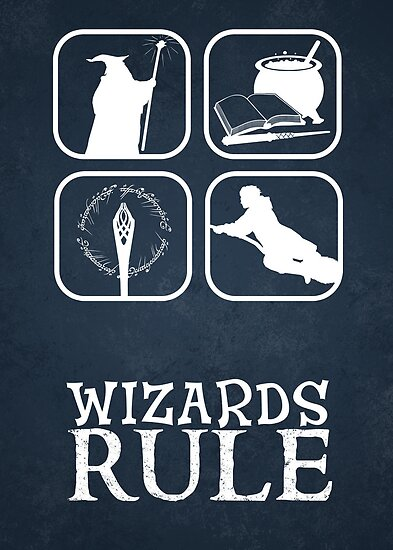 Wizards Rule by thehookshot