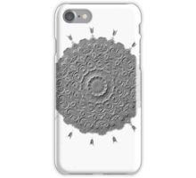 Silver emboss-R18 iPhone Case/Skin