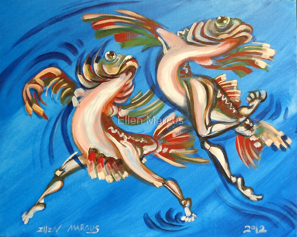 When Fish Dance by Ellen Marcus