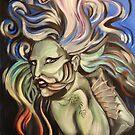 Lady Gaga (as a fish) by Ellen Marcus