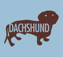 Dachshund Brown by gstrehlow2011