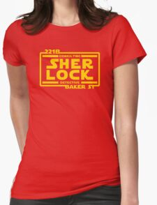 SHER LOCK Womens Fitted T-Shirt
