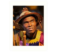 Ows Karamo ! vivre au senegal.  by  Doktor  Faustus !  featured in AFRICAN ART AND PHOTOGRAPHY. Art Print