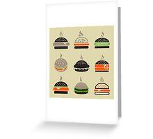 Hamburger2 Greeting Card