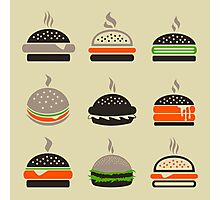 Hamburger2 Photographic Print