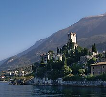 Malcesine Castello by brianhardy247