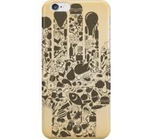 Hand food iPhone Case/Skin
