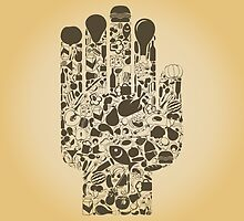 Hand food by Aleksander1