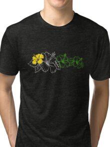 Hibiscus  Tri-blend T-Shirt