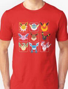 Eeveelutions Grid T-Shirt