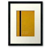 Kill Bill Framed Print