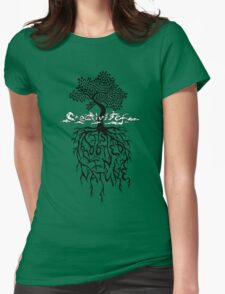 Creativity is Rooted In Nature Womens Fitted T-Shirt