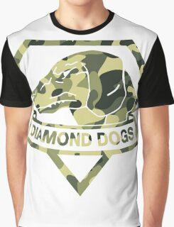 Diamond Camouflage Graphic T-Shirt