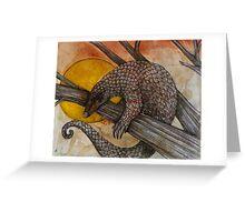The Pangolin Greeting Card