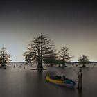 Kayak at the Sunken Island by Troy Dalmasso