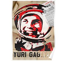 Yuri Gagarin forever with us Poster