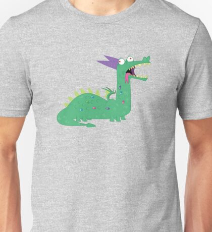 Crackles The Dragon Unisex T-Shirt