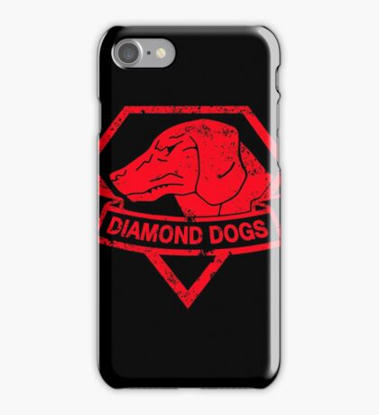 Diamond (Red) iPhone Case/Skin