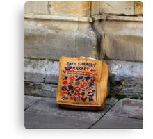Bath Farmers' Market Canvas Print