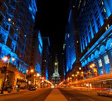 Broad Street City Lights, Philadelphia by Eric Tsai