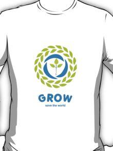 GROW save the world T-Shirt