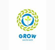 GROW save the world Unisex T-Shirt