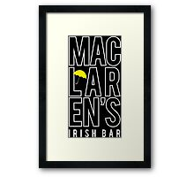 MacLaren's Irish Bar Framed Print