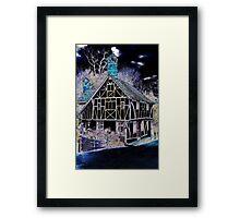 The strange house Framed Print