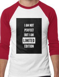 BTS/Bangtan Sonyeondan - Limited Edition Quote #2 Men's Baseball ¾ T-Shirt