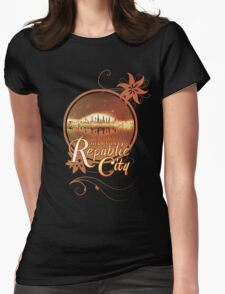 Lost My Heart In Republic City Womens Fitted T-Shirt