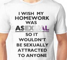 Asexy Homework Unisex T-Shirt