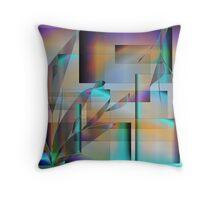 Hidden Walls Throw Pillow