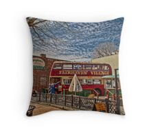 Old Brits Never Die Throw Pillow
