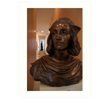 Bust in Convent of St George Gallery Art Print