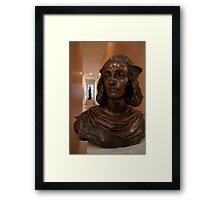Bust in Convent of St George Gallery Framed Print