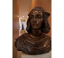 Bust in Convent of St George Gallery Photographic Print