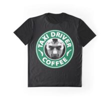 Taxi Driver Coffee. Graphic T-Shirt