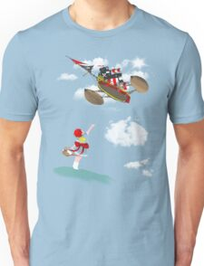 "Pirate skies ""Day time"" Unisex T-Shirt"